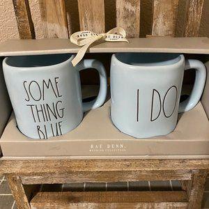 Rae Dunn New 2020 Wedding Collection Mug Set